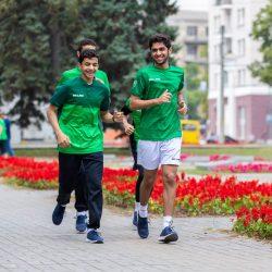 اخضر الريشة يستهل تدريباته في اوكرانيا