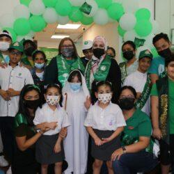 """أبناء مركز جمعية الأطفال ذوي الإعاقة ينظمون مسيرة حب للوطن """" مشوار في الدار"""" بمناسبة اليوم الوطني 91"""