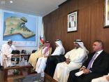 وزير التجارة الكويتي يستقبل نظيره القصبي ويبحثان المشروعات الاستثمارية بين المملكة والكويت