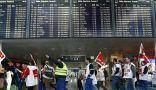 إضراب موظفي الأمن يلغي مئات الرحلات الجوية في ألمانيا