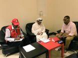"""""""السحيباني"""" يطلع على جهود الهلال الأحمر في مستشفى كيساني شمال الصومال"""