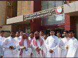 زيارة طلاب مجمع السلامة التعليمي لمجمع غسيل الكلى التابع لــ (بر جدة )