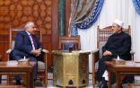 رئيس مجلس الوزراء العراقى عادل عبدالمهدي لشيخ الازهر : العراق يسير على الطريق رغم كل الصعوبات