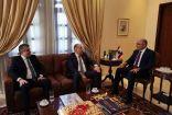 الرئيس دبوسي بضيافة السفير اللبناني في دولة الامارات فؤاد شهاب دندن