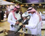 ٧٥٪ مبيعات أحدى شركات الأسلحة بمعرض الصقور والصيد السعودي الدولي