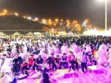 خلال 45 يوم أكثر من 160 ألف زائر لفعاليات فراشة المندق