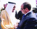 #الملك_سلمان يؤكد لـ #السيسي وقوف #المملكة إلى جانب #مصر في وجه كل ما يستهدف أمنها واستقرارها