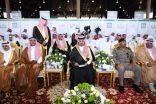 نائب أمير عسير يرعى حفل افتتاح معرض جامعة الملك خالد للكتاب والمعلومات