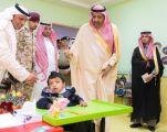 أمير الباحة يقوم بزيارة لمركز الأطفال المعاقين بالمنطقة