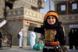 """""""زفة العروس"""" بقرية الباحة التراثية تحظى باقبال زائرات الجنادرية"""