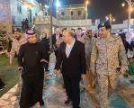 قرية الباحة التراثية تشهد زيارة رئيس هيئة الأركان البريطاني وعدد من الوفود