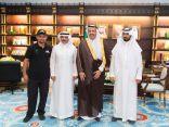 سمو أمير الباحة يستقبل مدير وأعضاء فريق هايكنج السعودية