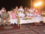 أمير الباحة يدشن مشروع إنارة طريق عقبة الملك فهد بالباحة