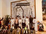 زيارة ادارة الأهلي لمركز الملك عبد الله بن عبد العزيز لرعاية الأطفال ذوو القدرات الفائقة