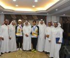 الحليفي والجعيد يحققان 4 ميداليات ذهبية وفضية في البطولة العربية لسلاح المبارزة بالأردن