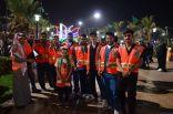 الهلال الأحمر السعودي بالطائف يشارك في فعاليات اليوم الوطني ٨٨