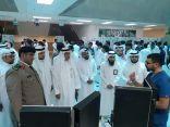 أكثر من ٨٠٠ زائر في معرض أمانة اللجنة الوطنية لمكافحة التبغ بجامعة المؤسس
