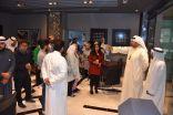 مؤسسة الإنتاج بالكويت تستضيف طلبة نادي الإبداع الإعلامي