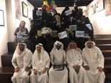 بحضور الأنباء العربية معرض قاف بالألوان جدة يختتم أعماله ويحقق نجاح باهر