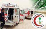 وفاة شخصين وإصابة خمسة في حادث تصادم بالخرمة