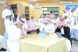 أكثر من (180) مبادرة محكمة يعرضها رسل السلام أمام طلاب الباحة لإرساء مفاهيم الرؤية الوطنية