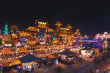 الجناح المغربى فى القرية العالمية بدبى يجهز لـ «عرض ازياء» مبهر فى احتفالات اليوبيل الفضى