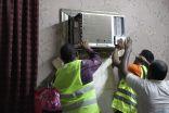بر القنفذة توزع أجهزة كهربائية لـ 600 مستفيد