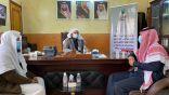 مدير هيئة الأمر بالمعروف بمنطقة الباحة بالإنابة يتابع تنفيذ حملة (الخوارج شرار الخلق) بهيئة محافظة بني حسن